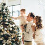 Snježno božićno drvce će se odlično uklopiti u prostor